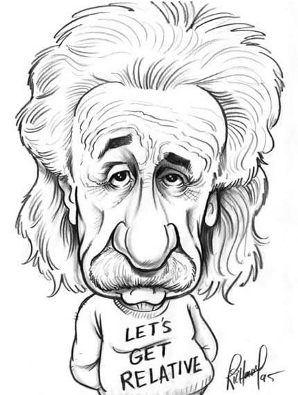 Imagenes albert einstein caricatura - Imagui