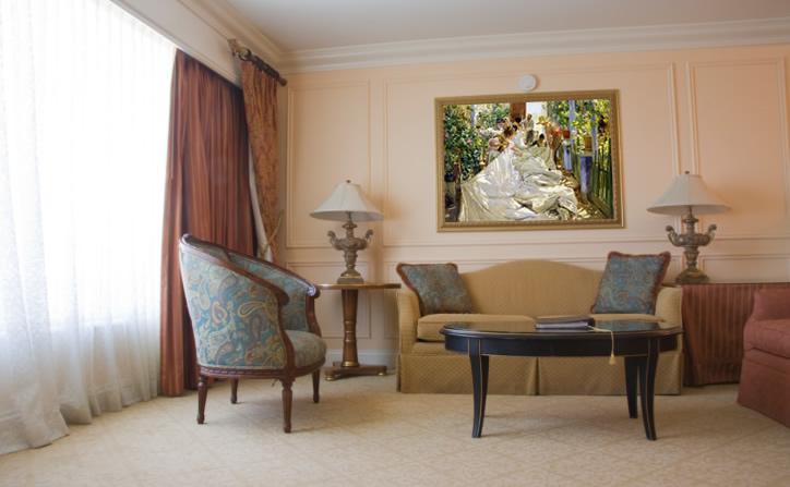 Cuadros de sorolla pinturas del impresionismo espa ol leos - Cuadros grandes para salon ...