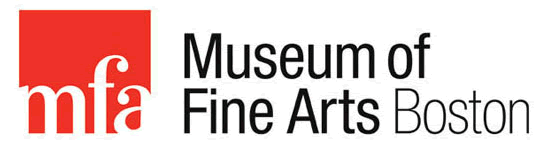 Logo del Museo de Bellas Artes, Boston.