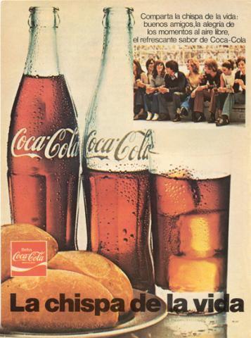 publicidad en los años