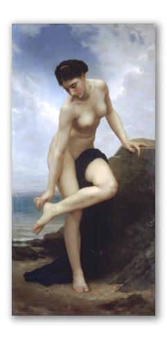 Después del Baño (1875)