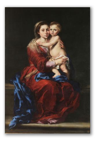 """Cuadro """"La Virgen del Rosario"""""""