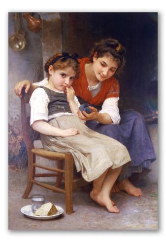 """Pintura """"Pequeña gruñona"""""""