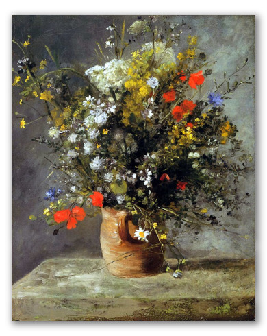 Jarrón de Flores 1866