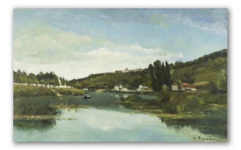 El Río Marne en Chennevières