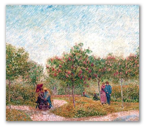 Jardín de Mortmartre