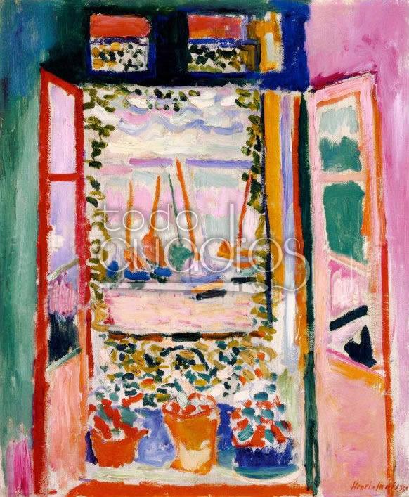 La fenetre de matisse cuadro de ventana l mina for Matisse fenetre a tahiti