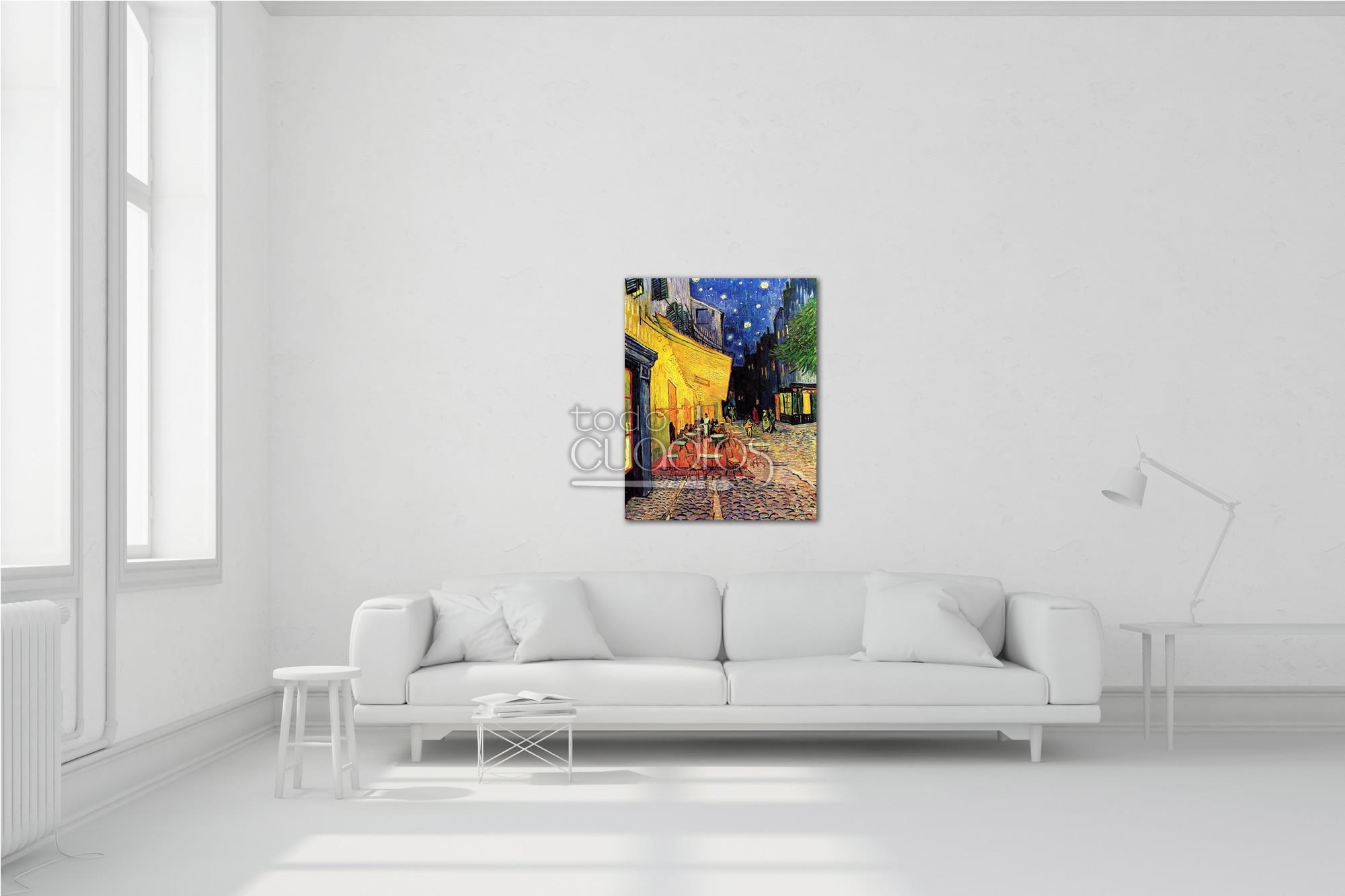 Terraza De Café Por La Noche V Van Gogh
