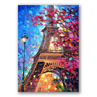 París en primavera, paisaje de ciudad