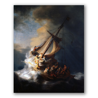 La tormenta en el mar de Galilea